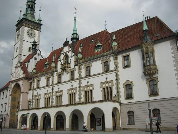 Stadhuis Olomouc, Tsjechië