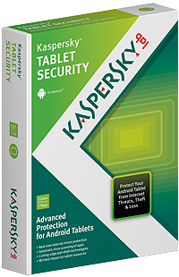 Kaspersky Tablet Security pakket
