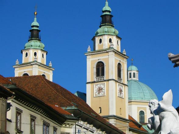 St Nicolaas Kathedraal, Ljubljana