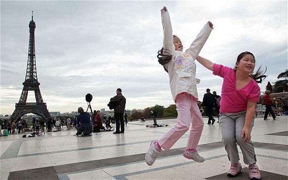 Frankrijk staat in de top 3 van droombestemmingen voor toeristen uit China.
