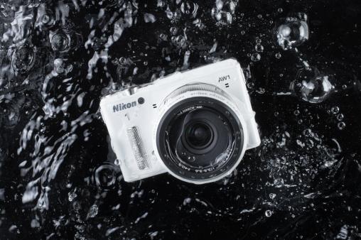 Nikon1 AW1 onderwater