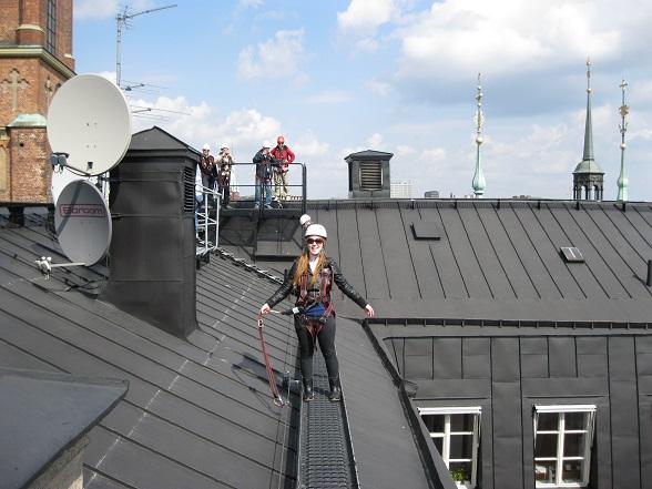 Reishonger's Sascha testte de Rooftop Walk van organisatie Uplevv Mer.