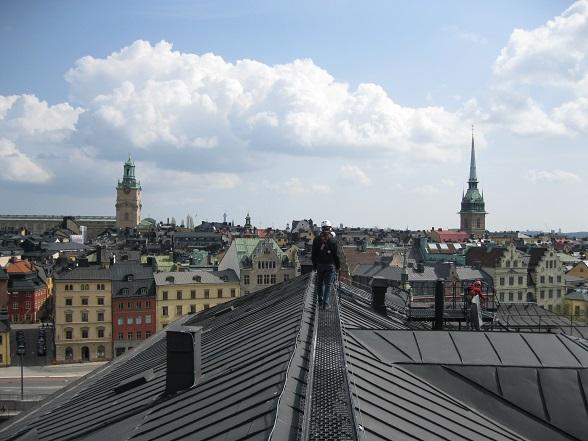 Dakenlopen in Stockholm