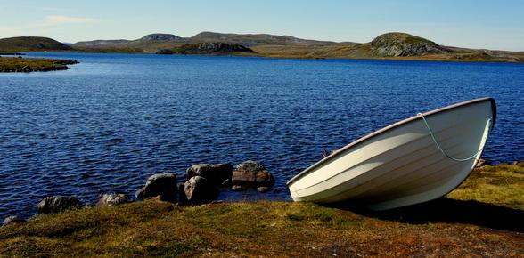 De hooglanden zijn koud en winderig, maar prachtig in de zomertijd.