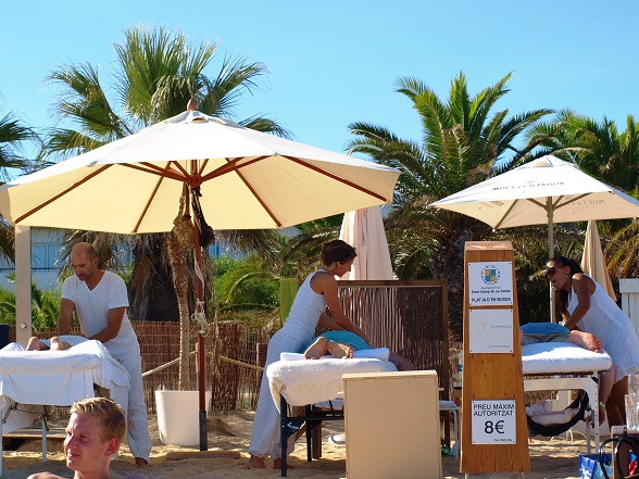 massage Playa d'en Bossa