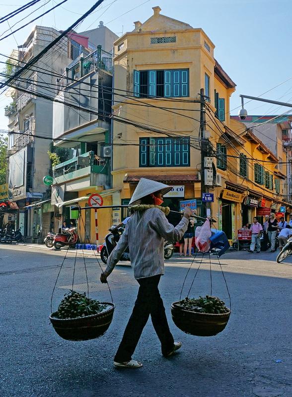Vietnam eten verkopen