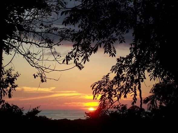 Zonsondergang Costa Rica