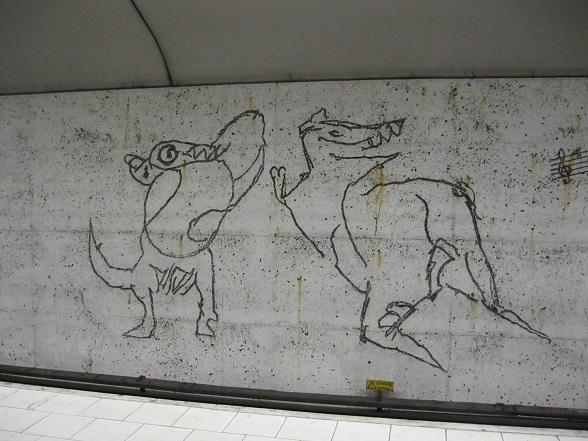 Stockholm Metro Ostermalmstorg