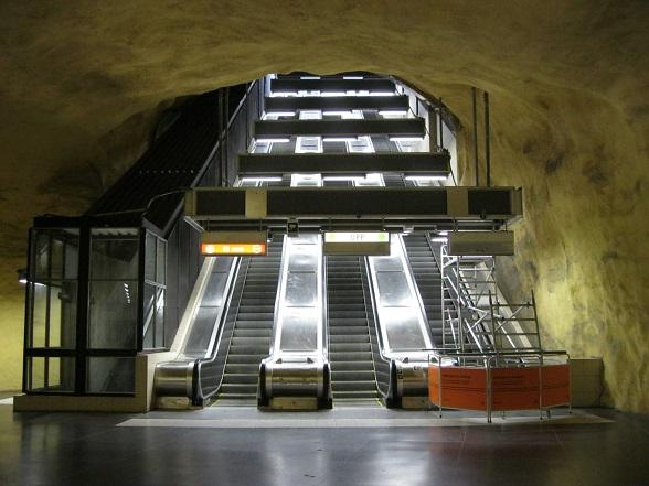 Stockholm metro Akalla