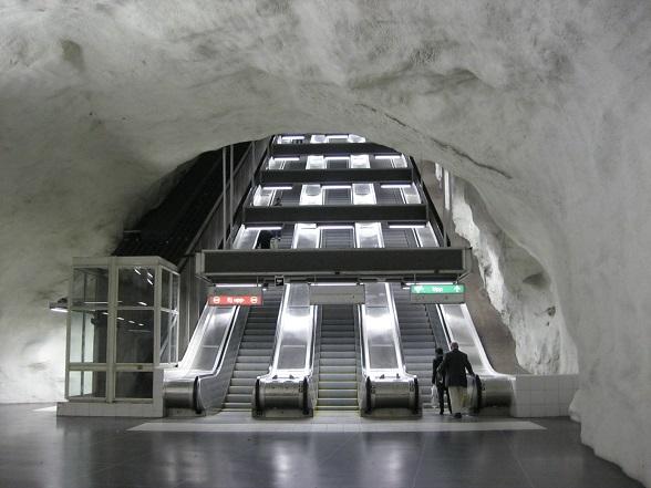 Stockholm metro Husby