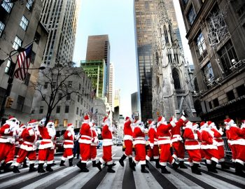 Kerst in New York City