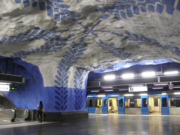 Stockholm metro T-centralen