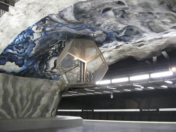 Stockholm Metro Tekniska hogskolan