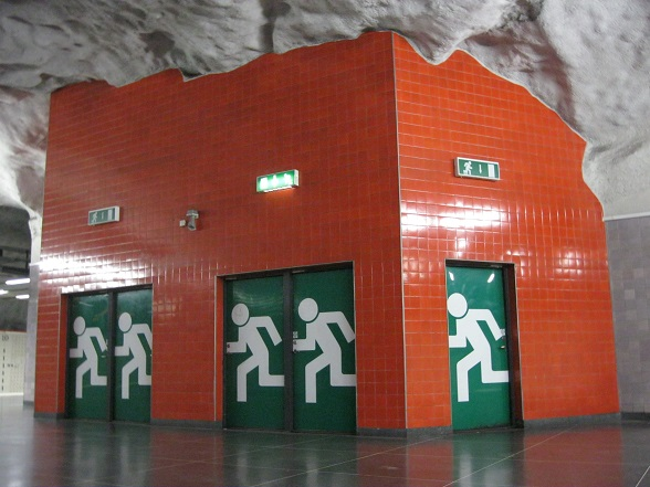 Stockholm metro Universitetet