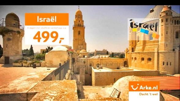 Op vakantie naar Israel