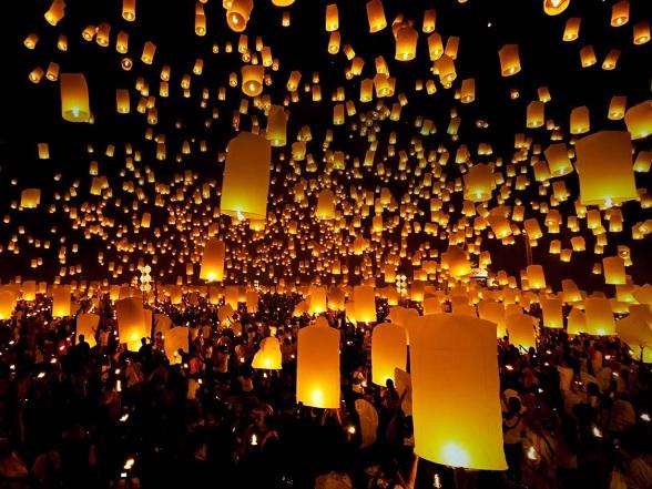 lanterns festival chiang mai