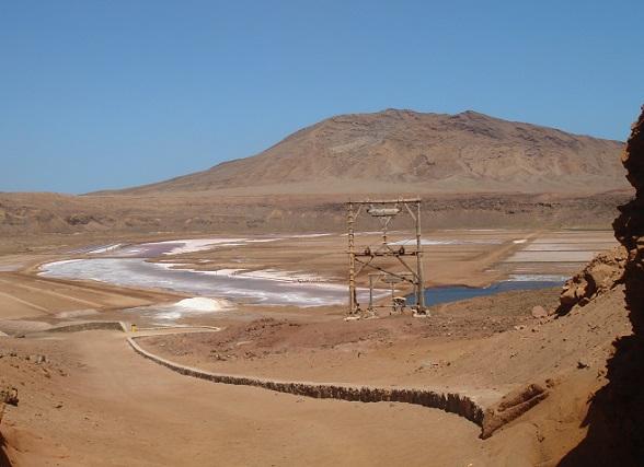 Pedra do Lume, een oude zoutmijn