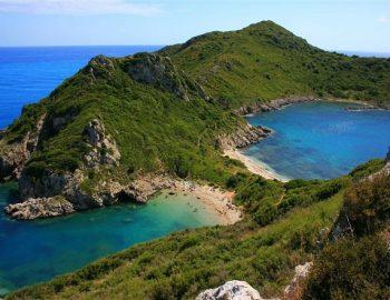 De stranden van Corfu