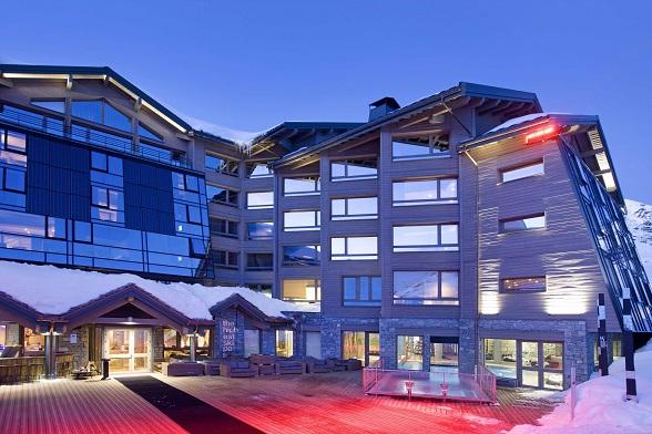 Hotel Altapura in Val Thorens, Frankrijk.