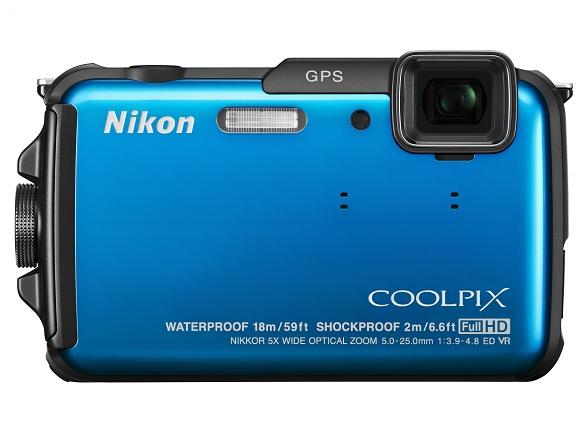 Nikon AW110 blauw