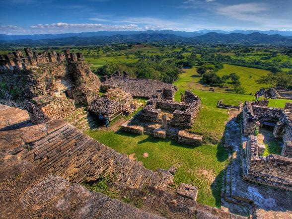 Tonina Ruins in Mexico