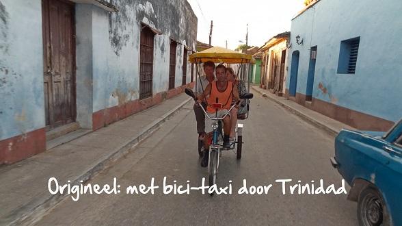 Bici-taxi Trinidad