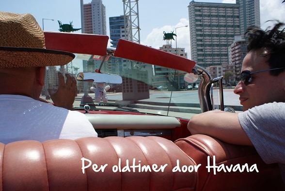 Per oldtimer door Havana
