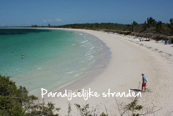 Paradijselijke stranden Cuba