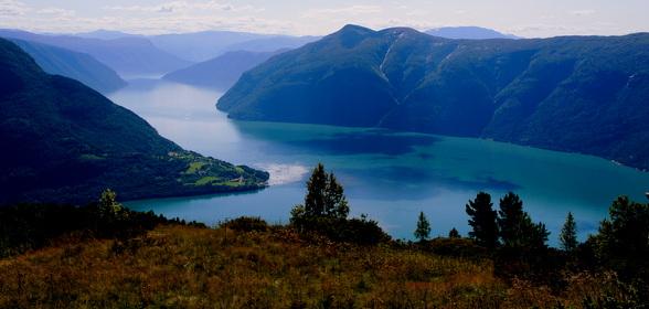 Fjorden om de Molden