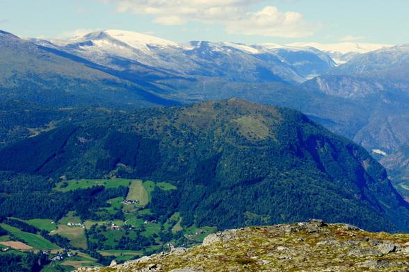 Het uitzicht van op de Molden