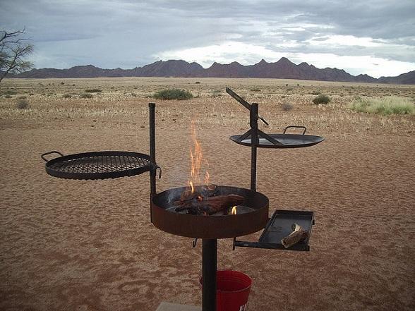 braai in Zuid-Afrika