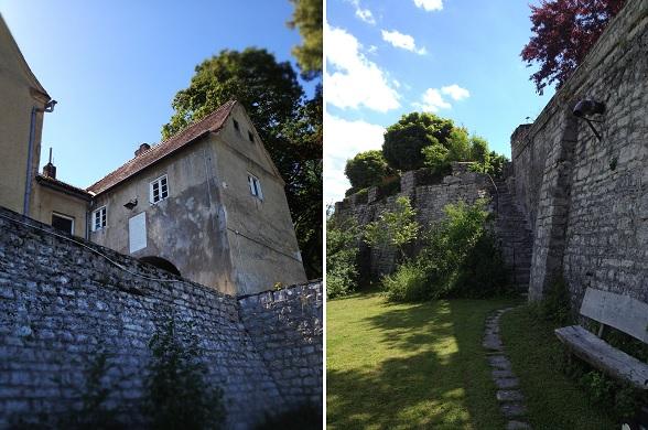 Schloss Mohren van buitenaf gezien
