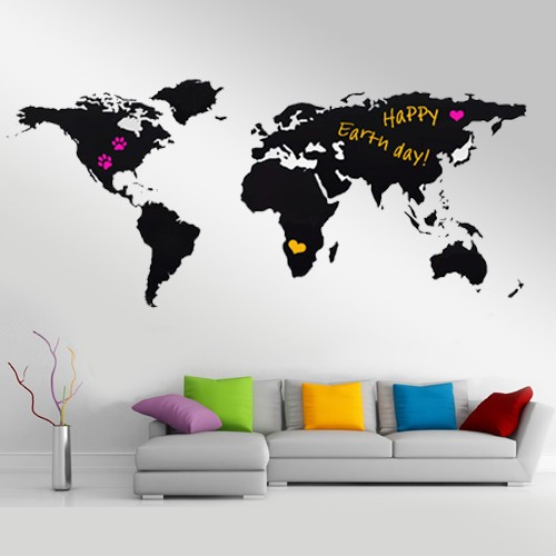 Deze gave muursticker is beschikbaar in diverse varianten en daarvoor ben je rond de 40 euro kwijt. Tip: de Chalk World Map is tijdelijk in de aanbieding bij Megagadgets voor 25 euro!
