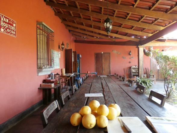Casa Aroma de Campo is een sfeervol gastenverblijf in de buurt van nationaal park Rincon de la Vieja.