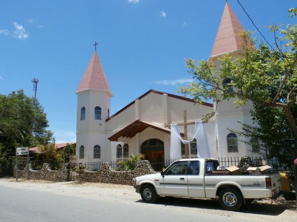 Een kerk in Samara.