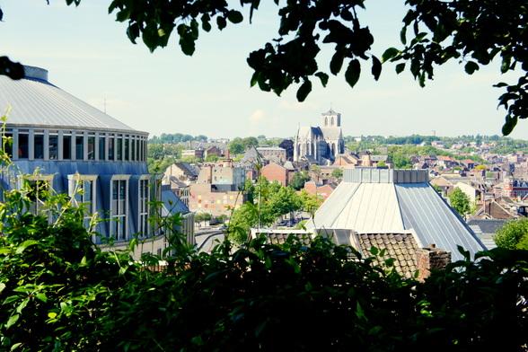 Uitzicht over Luik