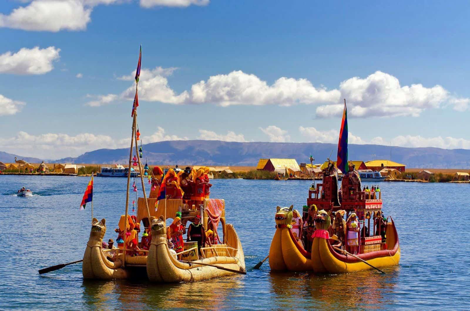 Toerisme in Peru neemt ieder jaar toe.