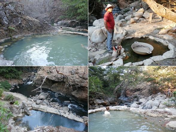 De Rio Negro Termales, heetwaterbronnen langs de rivier Rio Negro, zijn een perfecte plek om je te ontspannen na het vele wandelen.