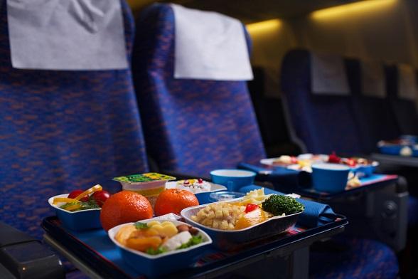 eten-in-vliegtuig