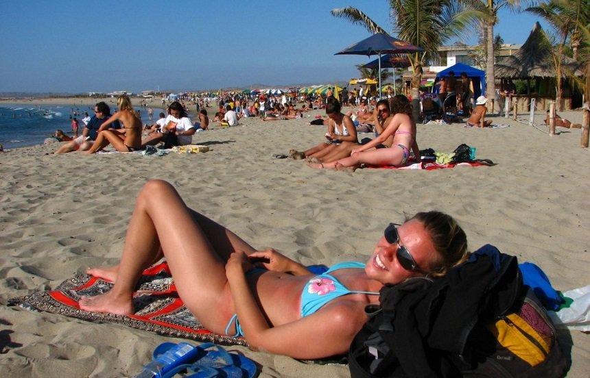 stranden van Peru