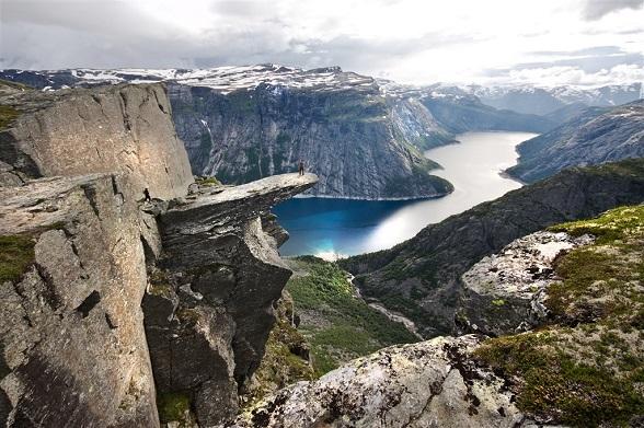 trollentong fjord-noorwegen