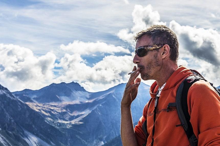Ürs Homberger, te voet door Graubünden
