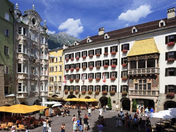 Gouden dak in Innsbruck