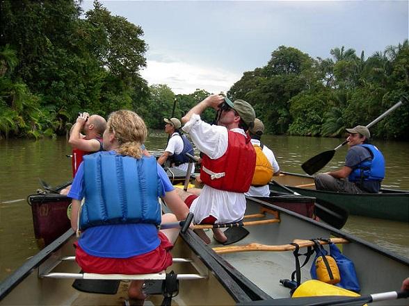 Cano Negro - Canoe Trip on Rio Frio