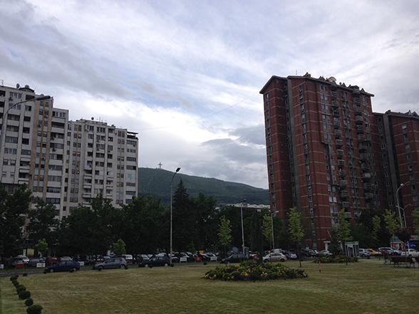 Skopje - Betonbouw