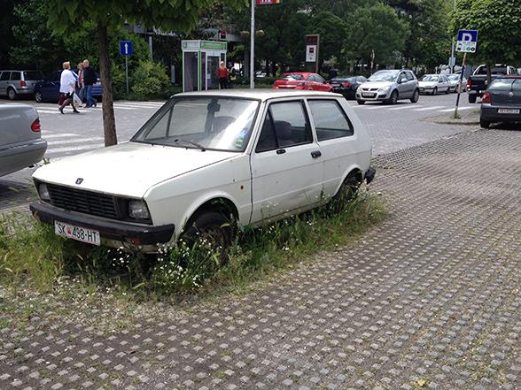Skopje - Langparkeren