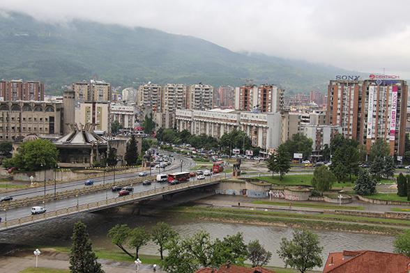 Skopje - Skyline