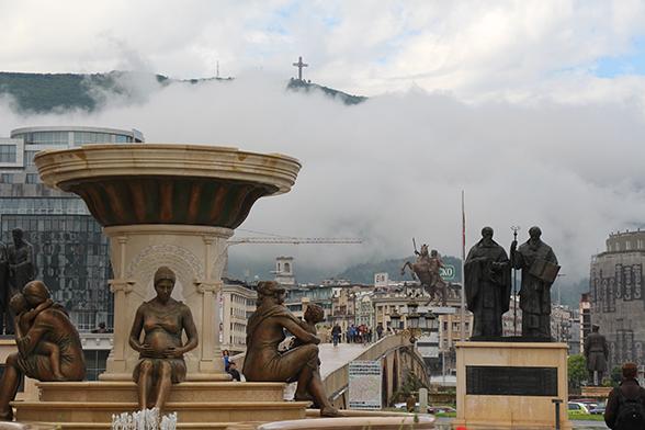 Standbeeldparadijs Skopje