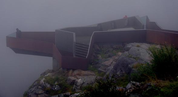 Uitzichtpunt over de Trollstigen