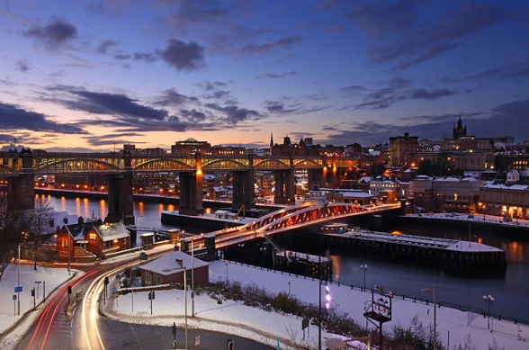 Newcastle Quayside Bridge